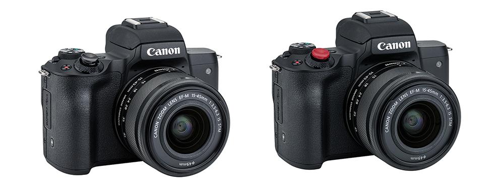 Canon eos m50 II softavtryck
