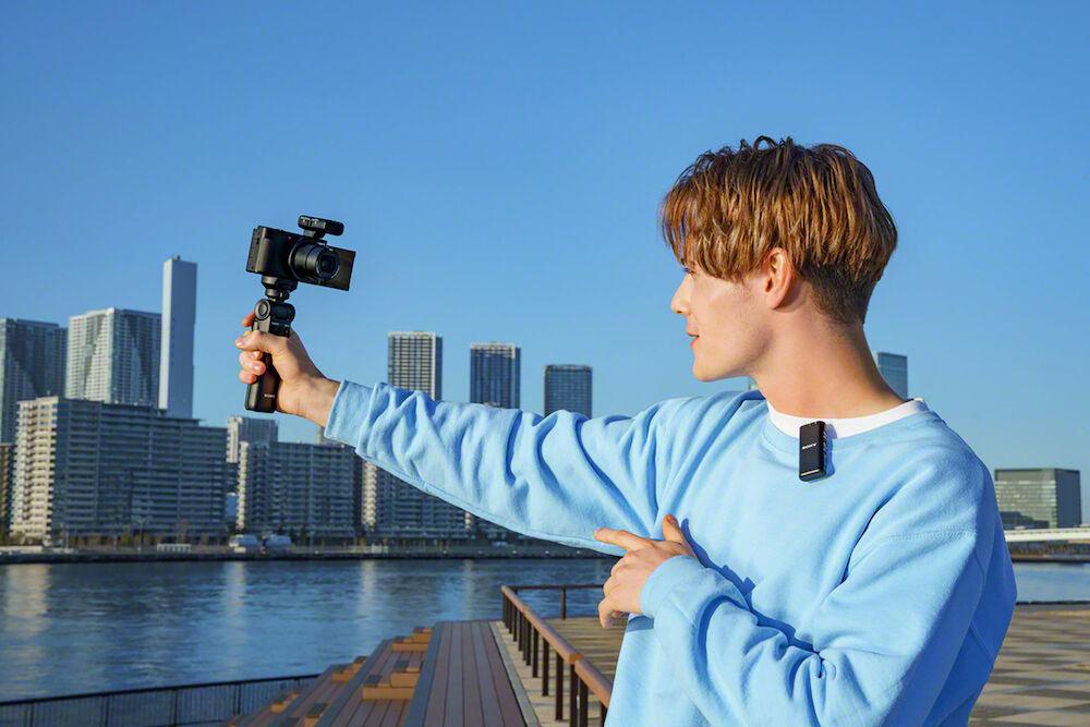 Sony ECM-W2BT trådlös mikrofon för vlogg