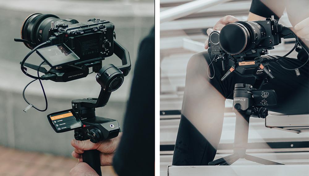 Zhiyun Weebill 2 Pro Plus med systemkamera