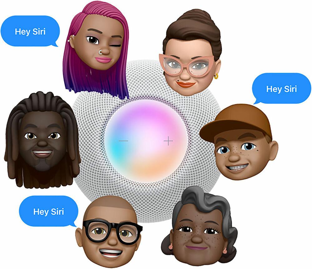 Fråga Siri i Apple Homepod mini
