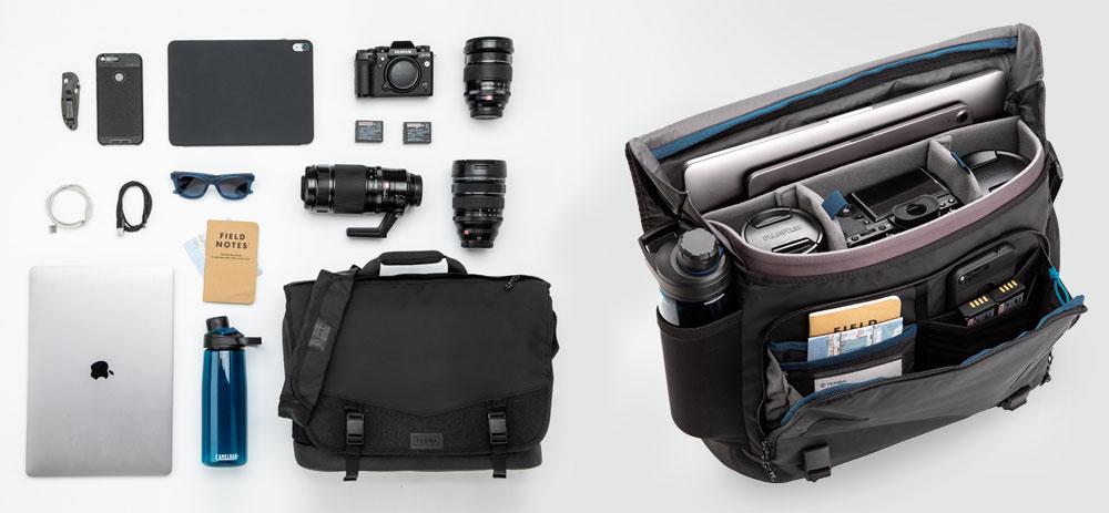 Tenba DNA 16 Slim Messenger bag camerabag